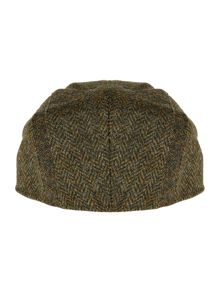 Barbour Herringbone Tweed Flatcap