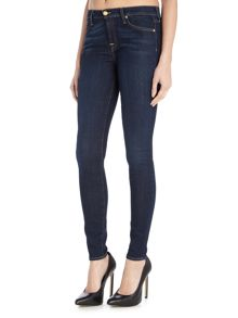 7 For All Mankind The Skinny B(air) in rich indigo