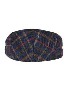Barbour Moons tweed herringbone cap
