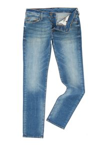 True Religion Rocco slim fit light wash jeans