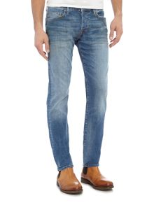 True Religion Rocco skinny fit light wash jeans