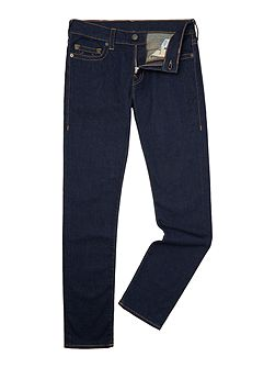 Rocco skinny fit no flap dark wash jeans