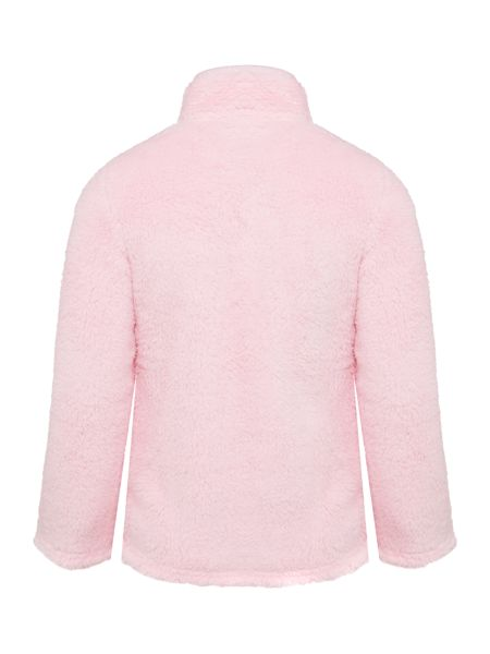 Joules Girls Fluffy Zip Up Jumper