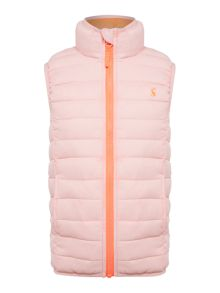 Joules Girls Pack Away Gilet