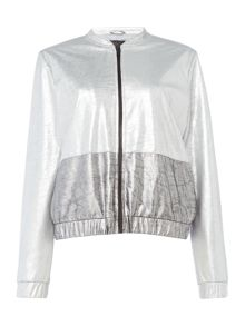 Label Lab Metallic bomber