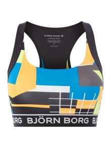 Bjorn Borg Bianca cropped sports top
