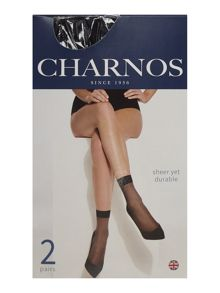 Charnos 5 Per Packet Sheer Knee High Socks