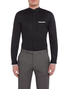Lindbergh Long sleeve detailed shirt