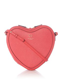 Love lane medium ziptop crossbody bag