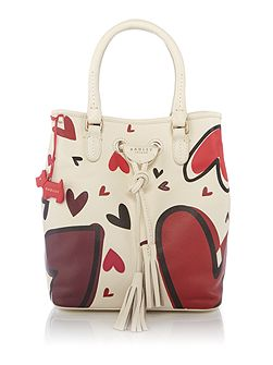 Love lane large drawstring multiway bag