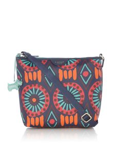 Radley Summer tribe small ziptop crossbody bag