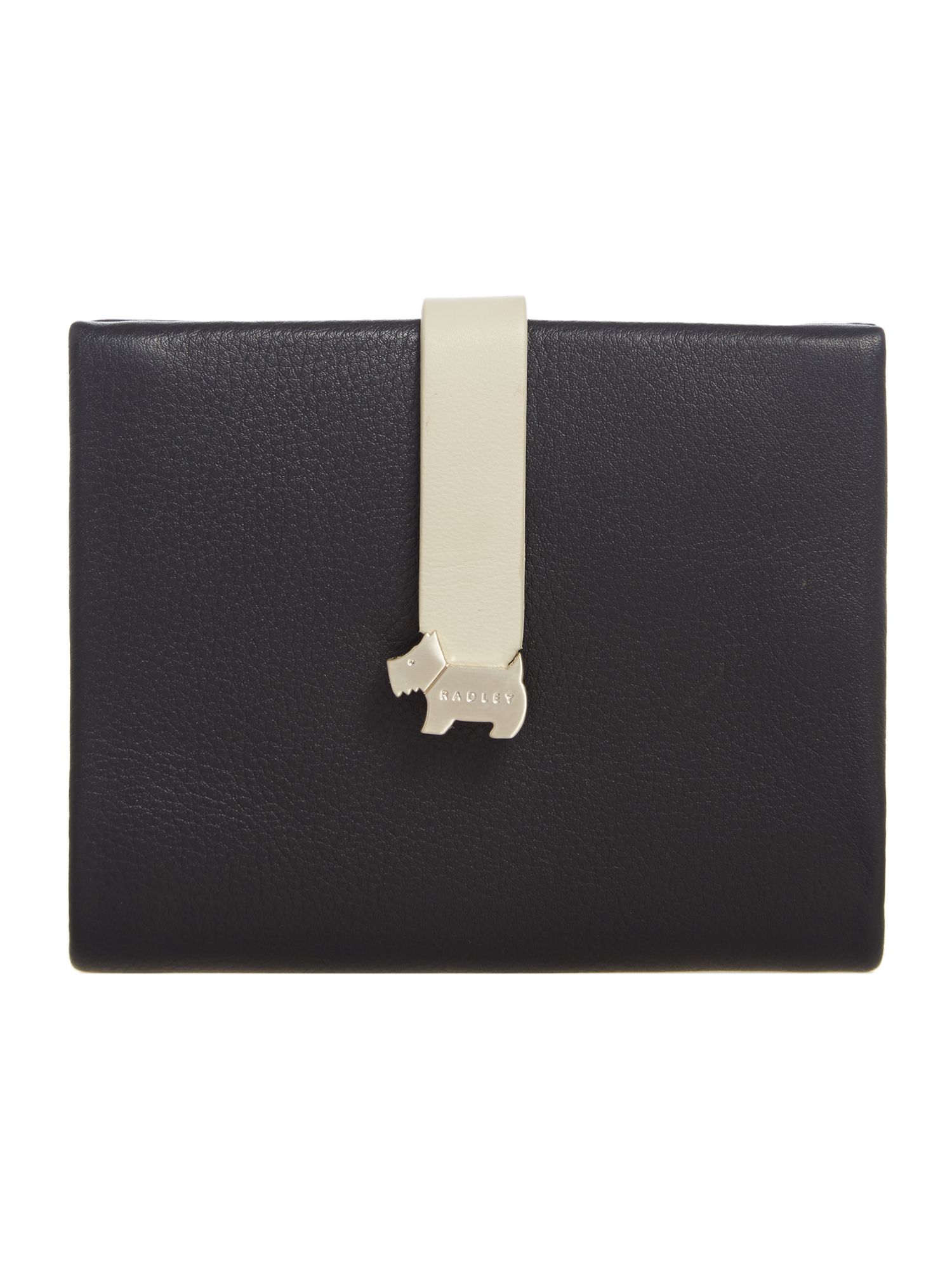 Radley Hamilton medium foldover purse Black