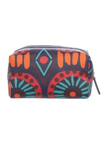 Radley Summer tribes small zip makeup case