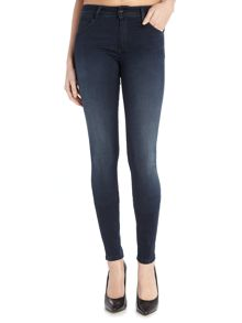 Salsa Wonder Push Up Skinny jean in denim dark wash