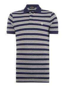Polo Ralph Lauren Golf Short sleeve pro fit stripe performance polo