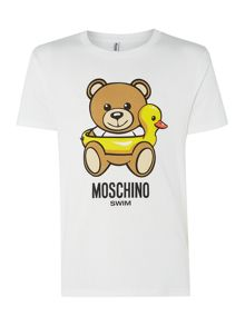 Moschino Print Swim T-shirt