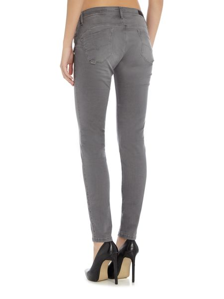 Salsa Wonder Push Up skinny jean in grey