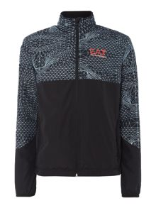 EA7 Ventus Graphic Running Jacket