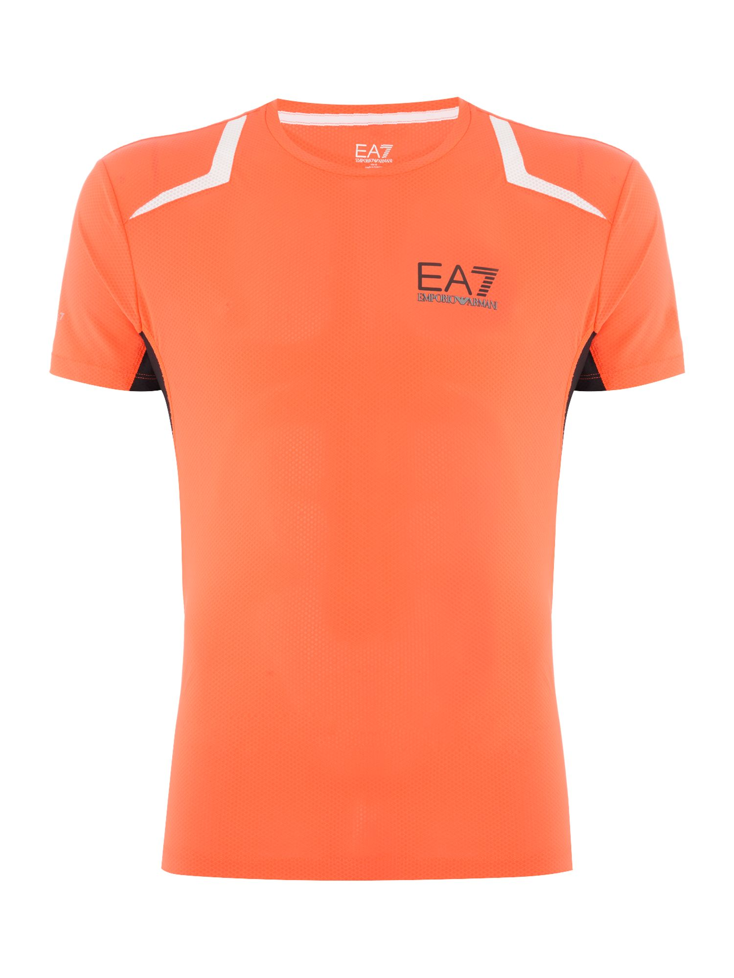 Men's EA7 Ventus Performance Short-Sleeve T-shirt, Red