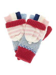 Joules Girl Fairisle Gloves