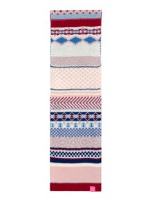 Joules Girls Fairisle Scarf