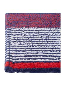 Linea Nautical multistripe bath mat