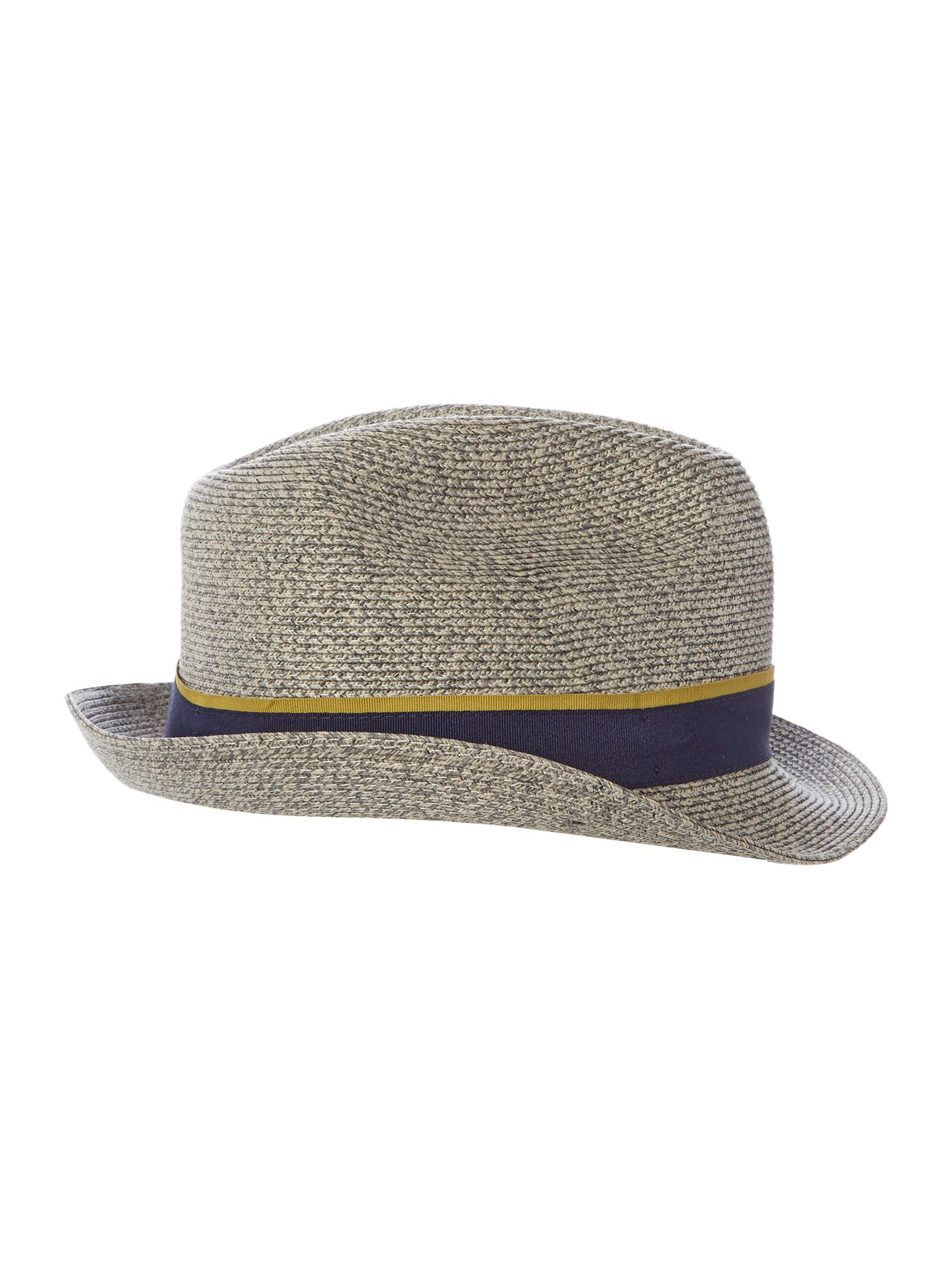 Ted Baker Mixed Colour Trilby Grey