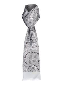 Ted Baker Paisley Print Silk Scarf