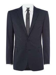 Polo Ralph Lauren Connery Narrrow Plain Weave Stripe Two Piece Suit