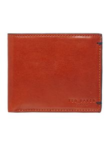 Ted Baker Bi-Fold Contrast Leather Wallet