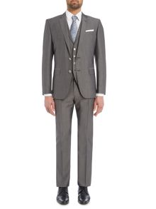 Hugo Boss Hutson Gander Slim Fit Wool Silk Suit