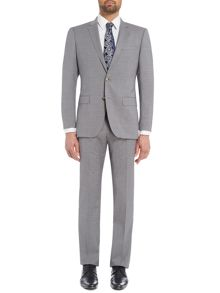 Hugo Boss Huge Genius Slim Fit Prince of Wales Check Suit