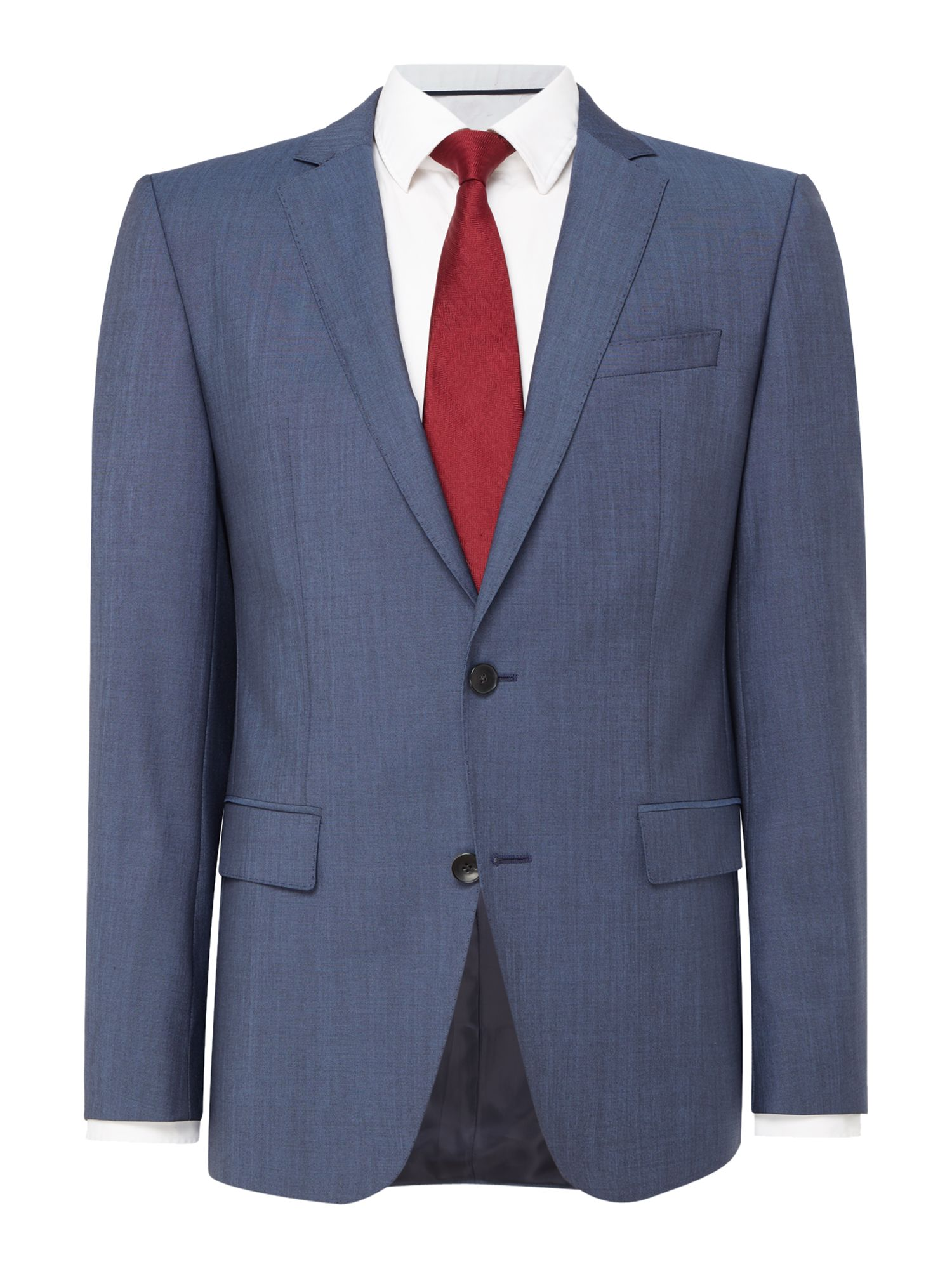 Men's Hugo Boss Huge Genius Slim Fit Wool Mohair Suit, Blue