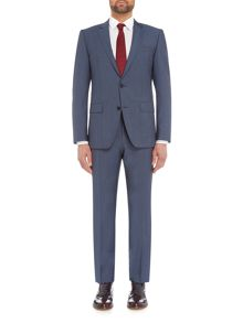 Hugo Boss Huge Genius Slim Fit Wool Mohair Suit