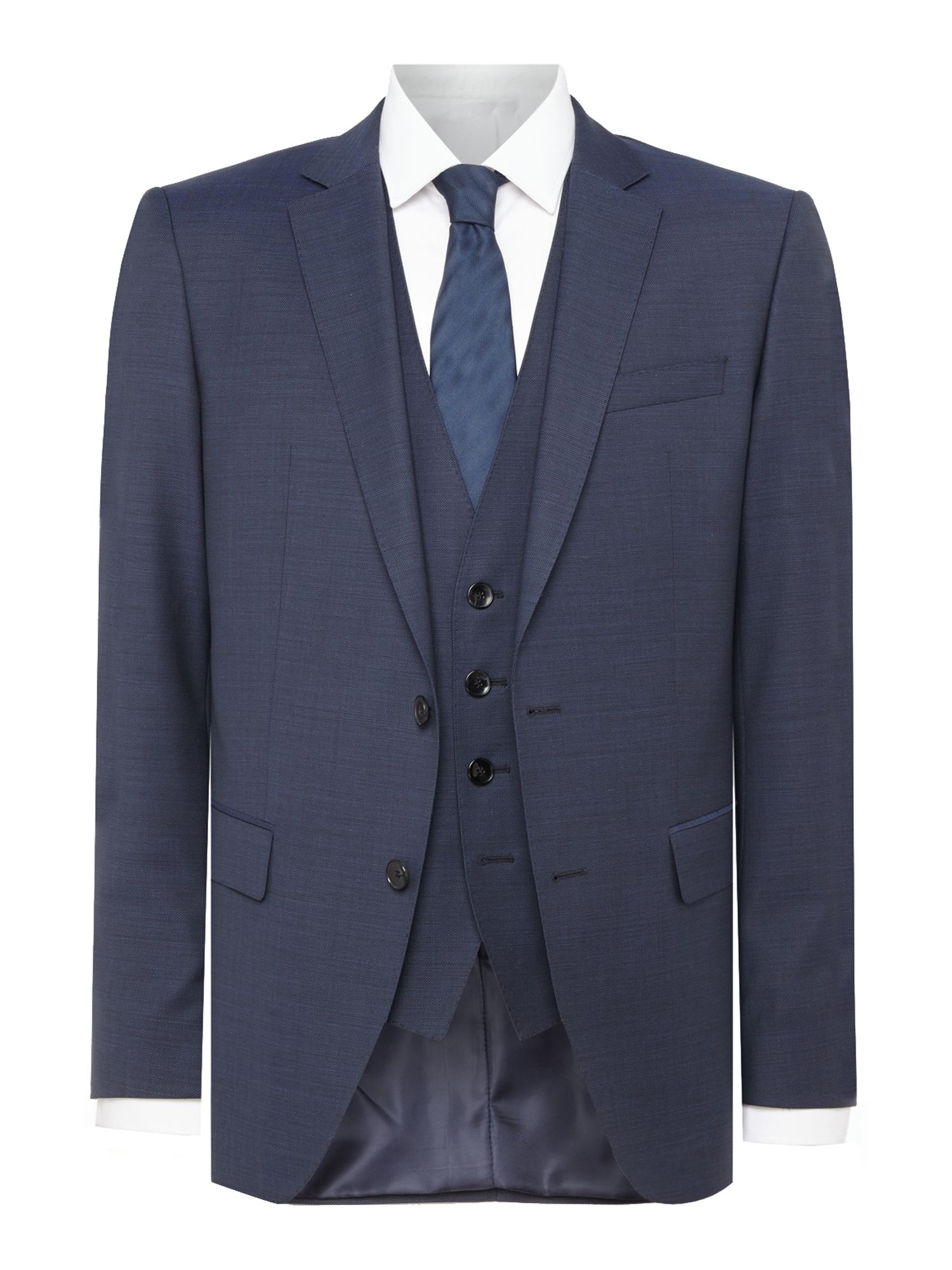 Men's Hugo Boss Huge Genius Textured Suit, Navy