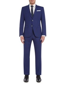 Hugo Boss Huge Genius Textured Bright Slim Fit Suit