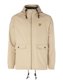 Lyle and Scott Cotton zip through jacket