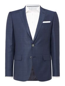 Hugo Boss Hutsons Slim Fit Textured Blazer