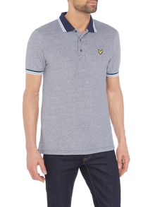 Lyle and Scott Short sleeve tipped collar polo