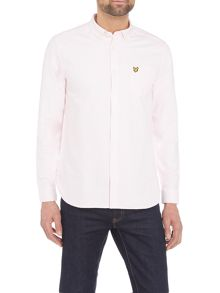 Lyle and Scott Long sleeve oxford shirt