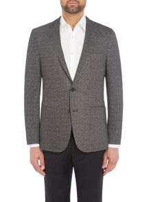 Hugo Boss Norwins Advanced Slim Textured Jersey Blazer