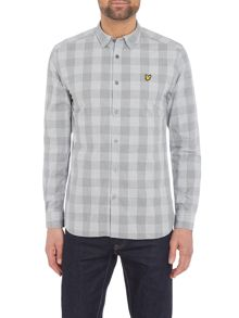 Lyle and Scott Long sleeve block check shirt