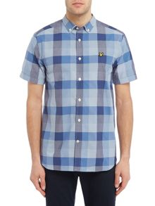 Lyle and Scott Short sleeve check shirt
