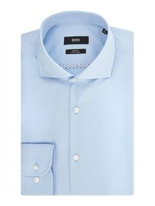 Hugo Boss Jerrin Slim Fit Contrast Poplin Trim Shirt