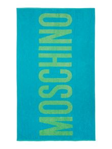 Moschino Printed Towel