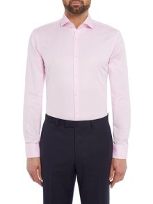 Hugo Boss Jerrin Contrast Trim Twill Shirt