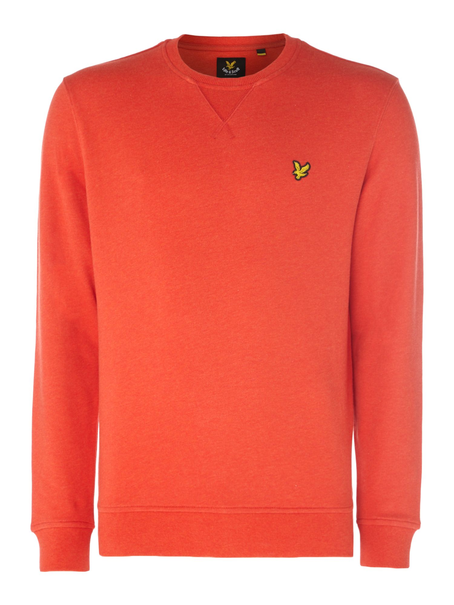 Men's Lyle and Scott Crew Neck Sweatshirt, Red