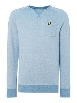 Oxford crew neck sweatshirt