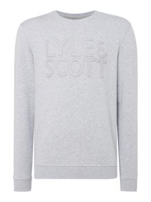 Lyle and Scott Graphic crew neck sweatshirt