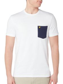 Lyle and Scott Contrast pocket t-tshirt